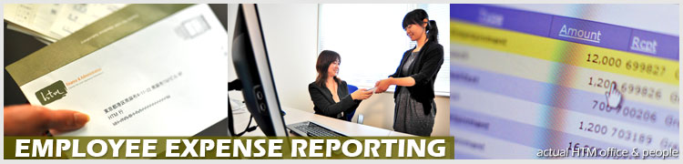 Employee expense reporting service in Japan - HTM Tokyo